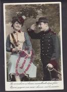 NN1083 - Militaria Patriotique Fantaisie - Homme Et Femme Militaire - LA VIVANDIERE - AN Paris - Patriottisch