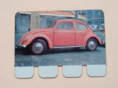 VOLKSWAGEN 1200 DE LUXE - Coll. N° 88 NL/FR ( Plaquette C O O P - Voir Photo - IFA Metal Paris ) ! - Plaques Publicitaires