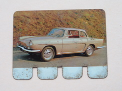 RENAULT CARAVELLE 1964 - Coll. N° 94 NL/FR ( Plaquette C O O P - Voir Photo - IFA Metal Paris ) ! - Tin Signs (after1960)