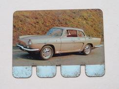 RENAULT CARAVELLE 1964 - Coll. N° 94 NL/FR ( Plaquette C O O P - Voir Photo - IFA Metal Paris ) ! - Advertising (Porcelain) Signs