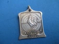 Médaille De Sport/TIR / U S T F / Coq Et Cible/ Vers 1930 - 1950                     SPO231 - Deportes