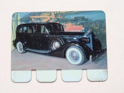 PACKARD 1934 - Coll. N° 96 NL/FR ( Plaquette C O O P - Voir Photo - IFA Metal Paris ) ! - Plaques Publicitaires