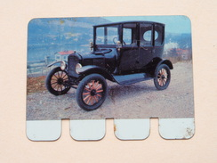 FORD 1919 - Coll. N° 99 NL/FR ( Plaquette C O O P - Voir Photo - IFA Metal Paris ) ! - Tin Signs (after1960)