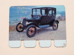 FORD 1919 - Coll. N° 99 NL/FR ( Plaquette C O O P - Voir Photo - IFA Metal Paris ) ! - Advertising (Porcelain) Signs