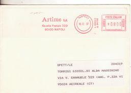 3-Invito Al Collezionismo Di Acireale: Affrancature Meccaniche Rosse:1997-Artime S.p.A.-Napoli X Acireale - Affrancature Meccaniche Rosse (EMA)
