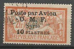 SYRIE PA N° 13 OBL TB - Poste Aérienne