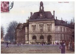 (450) France - Paris Place Gambetta Mairie (repro) - Monuments