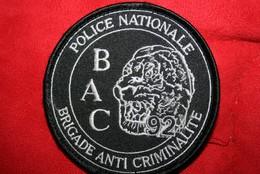 Ancien écusson BAC 92   Fond Noir - Police & Gendarmerie