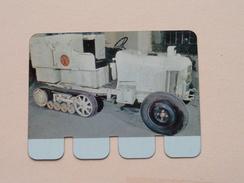 CITROEN CHENILLES 1924 - Coll. N° 7 NL/FR ( Plaquette C O O P - Voir Photo - IFA Metal Paris ) ! - Plaques En Tôle (après 1960)