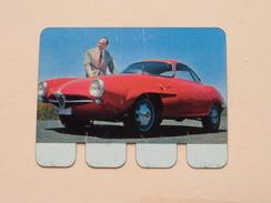 ALFA-ROMEO - Coll. N° 9 NL/FR ( Plaquette C O O P - Voir Photo - IFA Metal Paris ) ! - Tin Signs (after1960)