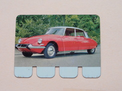 CITROEN DS 19 - Coll. N° 10 NL/FR ( Plaquette C O O P - Voir Photo - IFA Metal Paris ) ! - Plaques En Tôle (après 1960)