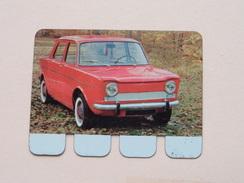 SIMCA 1000 - Coll. N° 12 NL/FR ( Plaquette C O O P - Voir Photo - IFA Metal Paris ) ! - Tin Signs (after1960)