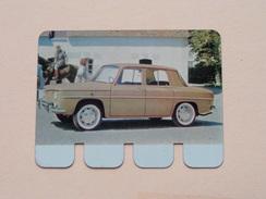 RENAULT R 8 - Coll. N° 15 NL/FR ( Plaquette C O O P - Voir Photo - IFA Metal Paris ) ! - Plaques En Tôle (après 1960)