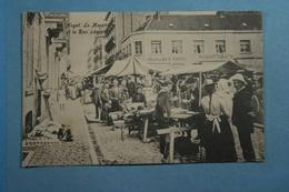 Heyst Le Marché Et La Rue Léopold - Heist