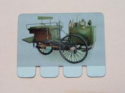 DE DION BOUTON 1887 - Coll. N° 17 NL/FR ( Plaquette C O O P - Voir Photo - IFA Metal Paris ) ! - Plaques En Tôle (après 1960)