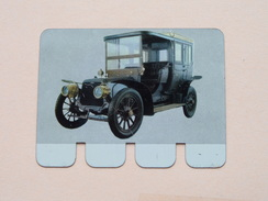 PANHARD LEVASSOR 1908 - Coll. N° 18 NL/FR ( Plaquette C O O P - Voir Photo - IFA Metal Paris ) ! - Advertising (Porcelain) Signs