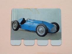 TALBOT LAGO 1949 - Coll. N° 21 NL/FR ( Plaquette C O O P - Voir Photo - IFA Metal Paris ) ! - Plaques Publicitaires
