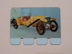 HISPANO-SUIZA 1912 - Coll. N° 25 NL/FR ( Plaquette C O O P - Voir Photo - IFA Metal Paris ) ! - Plaques Publicitaires