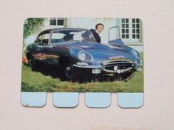 JAGUAR TYPE E - Coll. N° 27 NL/FR ( Plaquette C O O P - Voir Photo - IFA Metal Paris ) ! - Advertising (Porcelain) Signs