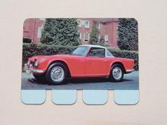 TRIUMPH TR 4 - Coll. N° 29 NL/FR ( Plaquette C O O P - Voir Photo - IFA Metal Paris ) ! - Plaques En Tôle (après 1960)