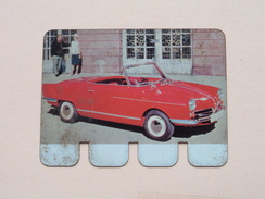 N.S.U. PRINZ 1964 - Coll. N° 30 NL/FR ( Plaquette C O O P - Voir Photo - IFA Metal Paris ) ! - Plaques En Tôle (après 1960)