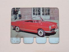 N.S.U. PRINZ 1964 - Coll. N° 30 NL/FR ( Plaquette C O O P - Voir Photo - IFA Metal Paris ) ! - Plaques Publicitaires