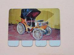 PEUGEOT 1895 - Coll. N° 31 NL/FR ( Plaquette C O O P - Voir Photo - IFA Metal Paris ) ! - Plaques En Tôle (après 1960)