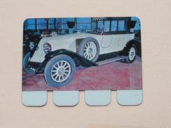 RENAULT 1923 - Coll. N° 33 NL/FR ( Plaquette C O O P - Voir Photo - IFA Metal Paris ) ! - Plaques Publicitaires