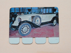 RENAULT 1923 - Coll. N° 33 NL/FR ( Plaquette C O O P - Voir Photo - IFA Metal Paris ) ! - Blechschilder (ab 1960)