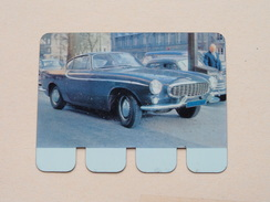 VOLVO P 1800 S - Coll. N° 35 NL/FR ( Plaquette C O O P - Voir Photo - IFA Metal Paris ) ! - Plaques En Tôle (après 1960)