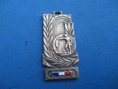 Médaille De Sport/Jeunesse Et Sports / Offert Parle Ministre/Bronze Nickelé Et émail/ Vers 1930 - 1950      SPO241 - Athlétisme