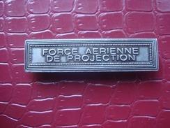 Barette . Agrafe - FORCE AERIENNE DE PROJECTION - Francia