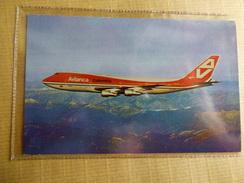 AIRLINE ISSUE / CARTE COMPAGNIE    AVIANCA COLOMBIA  B 747 - 1946-....: Era Moderna