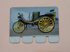 DELAHAYE 1895 - Coll. N° 44 NL/FR ( Plaquette C O O P - Voir Photo - IFA Metal Paris ) ! - Plaques En Tôle (après 1960)