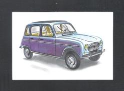 RENAULT R4 L   - CHROMO AUTO 1962 (C) - CHOCOLADE JACQUES  (C 1771) - Jacques