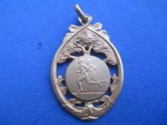 Médaille De Sport/Athlétisme / Course à Pieds/Cross ? //Bronze Doré/ Vers 1930 - 1950      SPO244 - Athletics