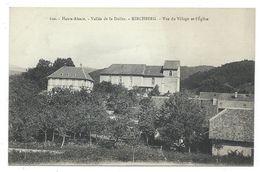 CPA - VALLEE DOLLER, KIRCHBERG, VUE DU VILLAGE ET L' EGLISE - Haut Rhin 68 - Edit. Chadourne - France