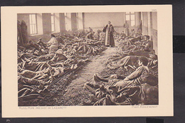 B25 /  Der Krieg In Postkarten 1914 / 16 Russland  / Soldaten In Russ. Kirche M. Pope - Guerra 1914-18