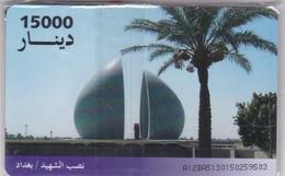 Iraq, IQ-ITPC-0007, Martyr Memorial, Mint In Blister, 2 Scans . - Iraq