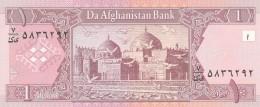 AFGHANISTAN 1 AFGHANI -UNC - Afghanistan