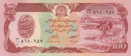 AFGHANISTAN 100 AFGHANIS -UNC - Afghanistan
