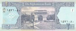 AFGHANISTAN 2 AFGHANIS -UNC - Afghanistan