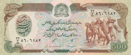 AFGHANISTAN 500 AFGHANIS -UNC - Afghanistan