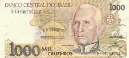 BRASILE 1000 CRUZADOS (2) -UNC - Brasil