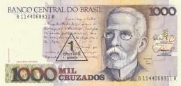 BRAZILE 1000 CRUZADOS -UNC -UNC - Brazil