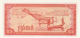 CAMBOGIA 0,5 RIEL -UNC - Cambodia