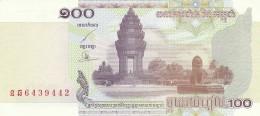 CAMBOGIA 100 RIELS (2) -UNC - Cambodia