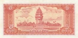 CAMBOGIA 5 RIELS -UNC - Cambodia