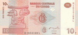 CONGO 10 FRANCS -UNC - Republic Of Congo (Congo-Brazzaville)