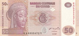 CONGO 50 FRANCS -UNC - Republic Of Congo (Congo-Brazzaville)